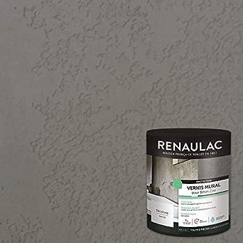 Renaulac Peinture Vernis Mural Pour Béton Ciré 1l 10m²