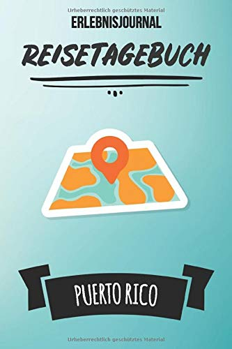 to Rico: Persönliches Reisejournal für deine Reise nach Puerto Rico | Reiselogbuch für Reiseerinnerungen & Sehenswürdigkeiten | Reisejournal für Kinder | Platz für 120 Tage ()