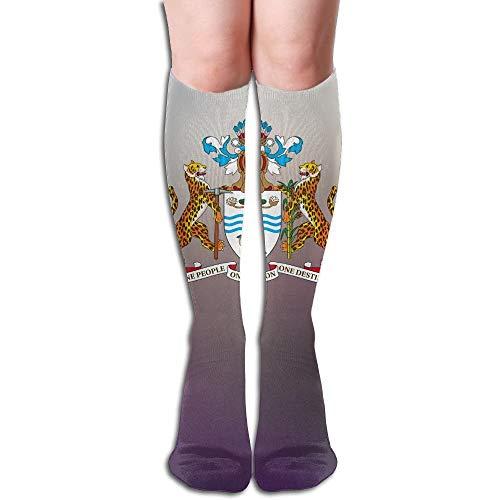 na Design elastische Mischung lange Socken Kompression Kniestrümpfe (50 cm) für den Sport ()