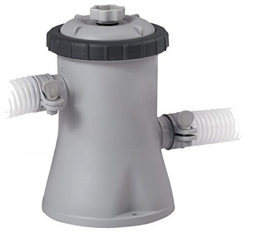 Intex Kartuschenfilteranlage Typ ECO 1250, Grau, 1.250 l/h / 30 W / 230 V