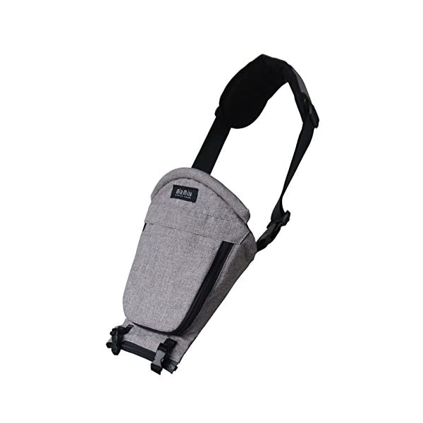 MiaMily HipsterTM Single Shoulder Accessory - New Stone Grey MiaMily Upgrade your Miamily HIPSTER PLUS with our Single Shoulder Attachment and get a total of 9 ways to carry your baby. Recommended age - 8 months to 48 months or 44lbs (20 kg) Machine washable 1