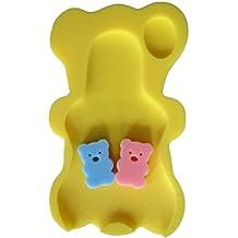 YeahiBaby Alfombra de baño para bebé Esponja antideslizante estera de baño para niños infantil (Limon amarillo)