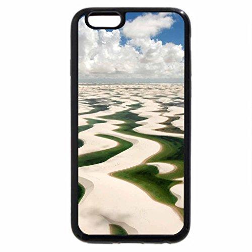 iPhone 6S / iPhone 6 Case (Black) dunes at lencois maranhenses np brazil