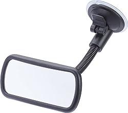 hr-imotion 10410401 Blind-Spot Interior Mirror, Black, Toter-Winkel - Spiegel