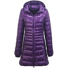 buy online c2e82 99386 Amazon.it: Piumini Lunghi - Viola