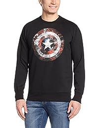 Captain America Men's Cotton Sweatshirt