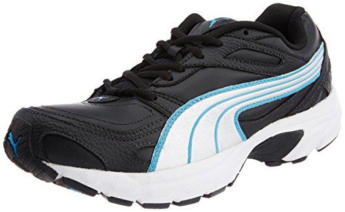 Puma Men's Axis XT II Ind. Black, Puma Slvr and Malibu Blue Running Shoes - 7 UK/India (40.5 EU)  available at amazon for Rs.1458