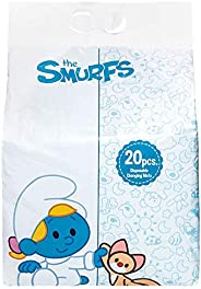 Smurfs Disposable Changing Mats 20-Pieces (Pack of 1)