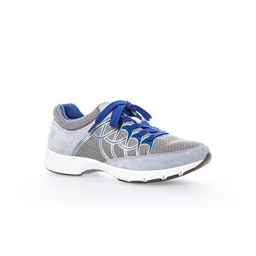 Donne Sneaker Gabor Sport 64.350.43 grigio / ghiaccio / argento Grigio