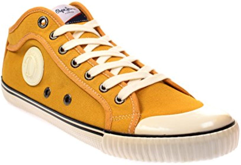 Pepe Footwear PMS30429 Industry   Herren Schuhe Sneaker   097 ochre y