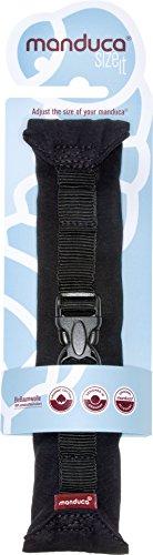 manduca Size-It Stegverkleinerer für manduca Babytrage & andere Komfort-Tragen (Verwendbar mit oder ohne Neugeborenen-Einsatz / Bauchtrage ab Geburt). Weicher (Ersatz)-Brustgurt für die Rückentrage