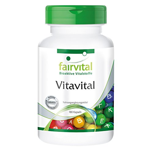 ERT - 180 Kapseln - Multivitamin - Vitamine, Carotinoide u. Bioflavonoide ()