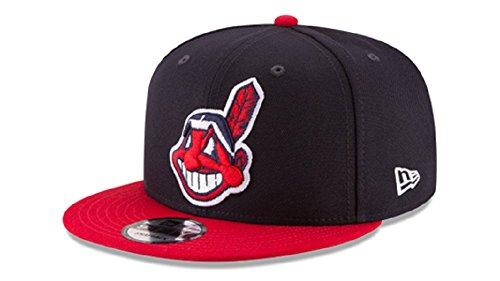 New Era Cleveland Indians Basic Logo MLB Snapback Cap, One Size