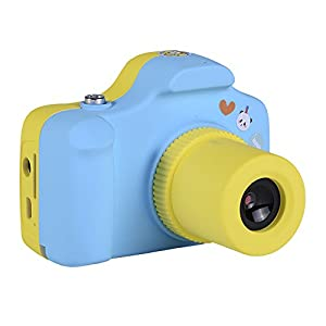 Yeshi 1.5 inches 1.0MP Mini Cute Cultivate Hobbies Children Kids Shoot Take Picture Digital Camera Birthday Xmas Gifts (Blue)