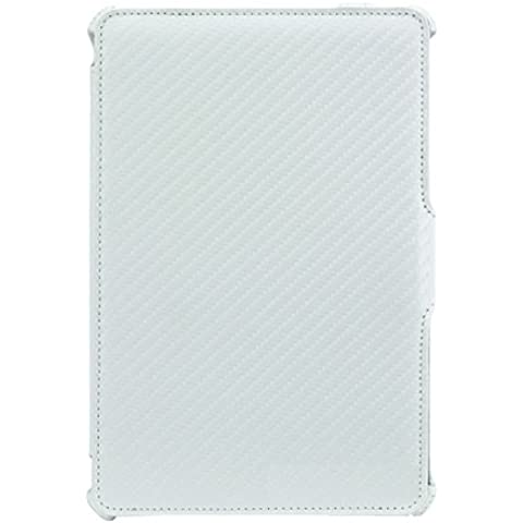 Amzer AMZ95177 funda para tablet - fundas para tablets (Folio, Color blanco, Apple, iPad mini, Resistente a rayones)