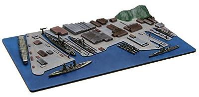 1/3000 neu sammeln Marinehafen Serie No.1 Yokosuka Marinehafen von modello di Fujimi