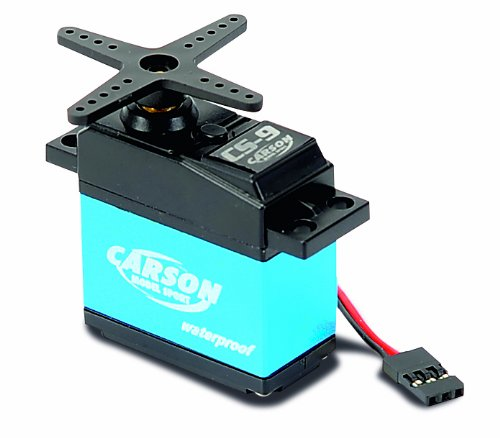 Carson 500502042 - Servo CS-9 Waterproof MG/ 9kg / JR