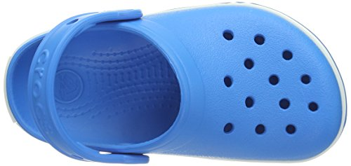 Crocs Lights Ps, Sabots mixte enfant Bleu (Ocean/White)