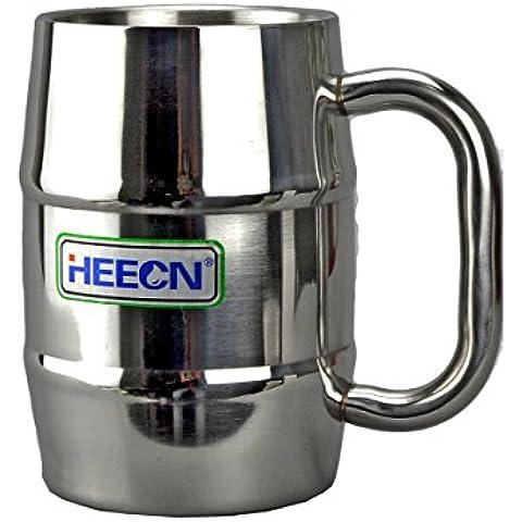 Heecn esterni in acciaio inox coppa boccale di birra partito tazza 500ml HEH-054