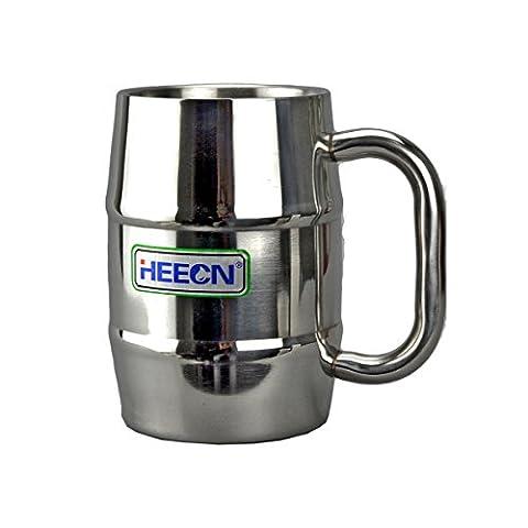 Heecn extérieur en acier inoxydable tasse bière tasse tasse parti 500ml HEH-054
