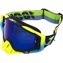 Foxom Gafas de Esquí, Unisex Motocross Deportes Snowmobile Esquí de Nieve Snowboard Gafas, protección