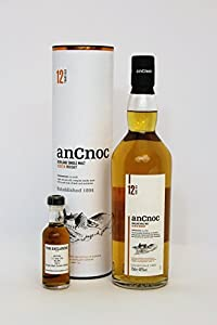An Cnoc - 12 Year Old - 40.0% - *50ml Sample* by An Cnoc