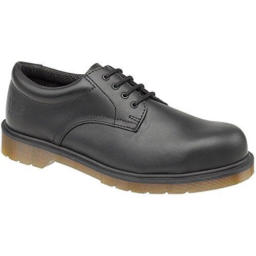 Dr Martens Mens Lace Up Safety Shoes FS57 Black