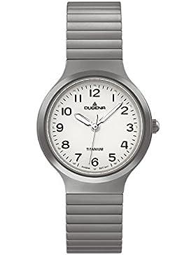 Dugena Damen-Armbanduhr Titan - Comfort Line Analog Quarz Titan 4460528