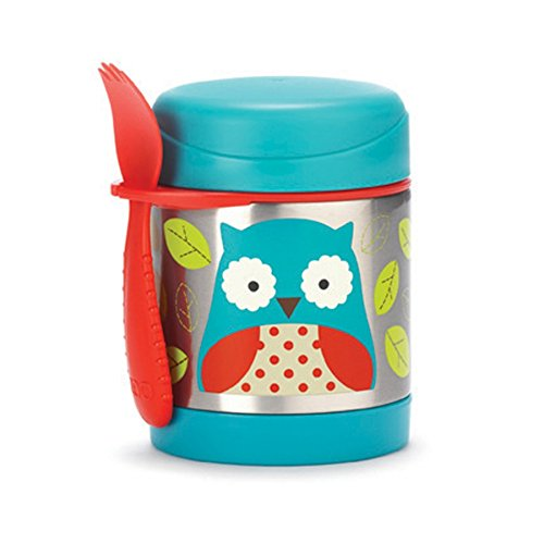 Skip Hop Thermos portapappa Zoo Food Jar INOX 325 ml OWL [SK252375]