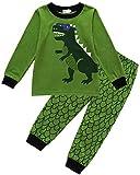 Tkria Kinder Jungen Schlafanzug Dinosaurier Pyjama Set 92 98 104 110 116 122