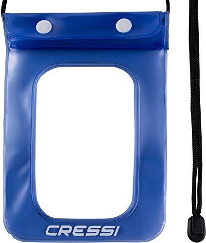 Cressi Waterproof Custodia Stagna per Cellulari / Smartphone, Unisex - Adulto, Confezione 1X Blu, Taglia unica