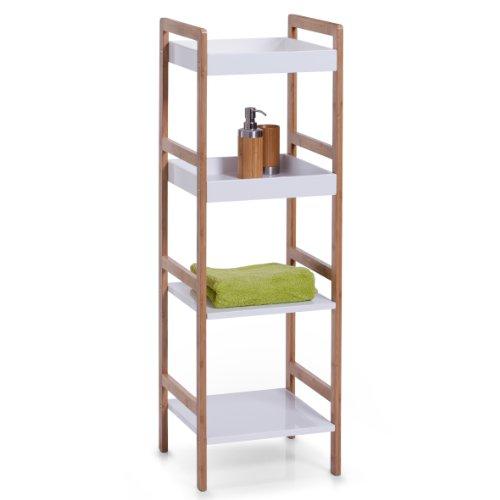 zeller-18631-estanteria-tipo-escalera-4-estantes-36-x-33-x-110-cm-bambu-y-fibra-de-densidad-media-co