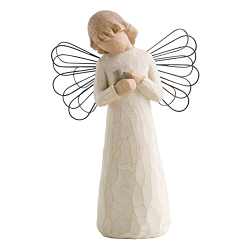 Willow Tree 26020 Figur Engel der Heilung, 3,8 x 3,8 x 12,7 cm -