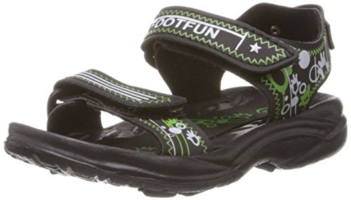 Foot Fun (from Liberty) Unisex Jimmy-05 Green Sandals and Floaters -4C kids UK/India  available at amazon for Rs.179