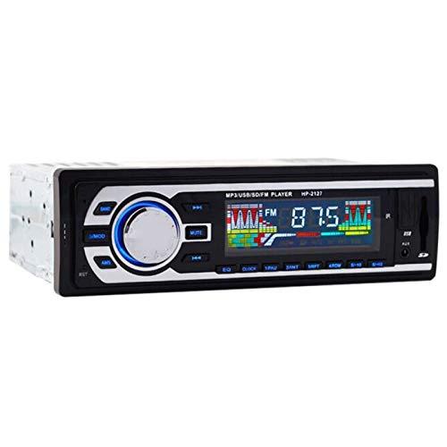 TOOGOO Der Neue 24 V Auto Radio Fm Radio Mp3 Audio Player Unterstützt Bluetooth Telefone Mit USB/Sd Mmc Anschluss Auto Elektronik Sprint 1 Din (Neues Radio Für Auto)