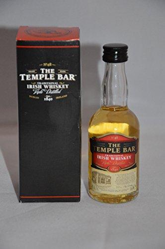 The Temple Bar Traditional Irish Whiskey Miniatur 0,05 l