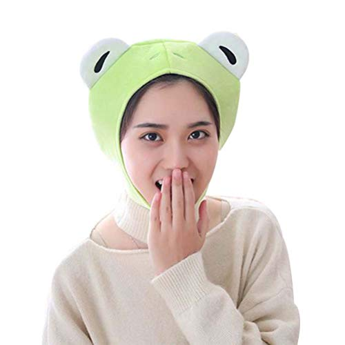 Amosfun Frosch Hut Cosplay Party Tier Hut Lustige Party Dress Up Hut Cosplay Kostüm Zubehör (Dress Tier Kostüme Up)