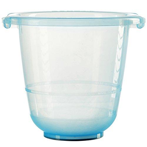 tummy tub das Original - Badeeimer kippsicher, rutschfest und schadstofffrei, blau
