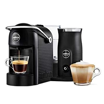 Lavazza Modo Mio 18000216 Black Jolie Plus Coffee Machine & Milk Frother