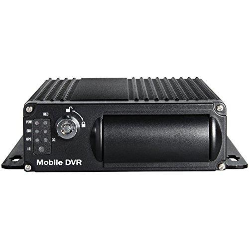 4canali H.264DVR mobile, registrazione ciclica DVR per auto, i/o, G-Sensor,
