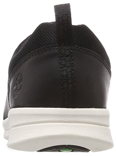 Timberland graydon Fabric and Leather, Richelieus Homme Noir (Black Connection 001)