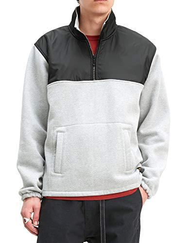 Levi's  ® Quarter Zip 2 Sweater Heather Grey
