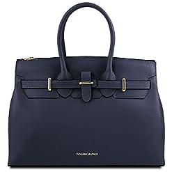 Elettra Leder Handtasche Tuscany Leather