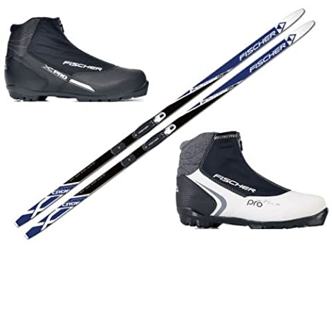 Fischer Summit Cross-Country Ski Set with Binding and XC Pro Shoes