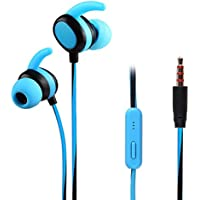 Febelle - Auriculares in-Ear estéreo DE 3,5 mm para Smartphones Azul