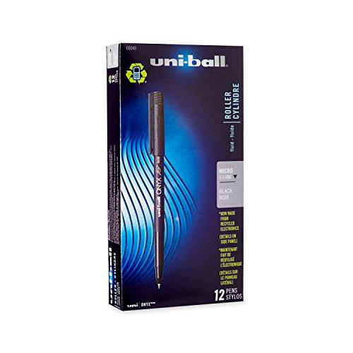 uni-ball-onyx-stick-micro-point-roller-ball-pens-12-black-ink-pens60040