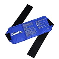 Ohuhu Gel-Kompresse Kalt Warm, 36x14cm Wiederverwendbar Universal Gel Gürtel Bei Schmerzen für Rücken Schulter... preisvergleich bei billige-tabletten.eu