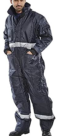 Portwest FR50NATXL Flame Resistant Anti-Static Coverall 350 g Tall Size: X-Large Navy
