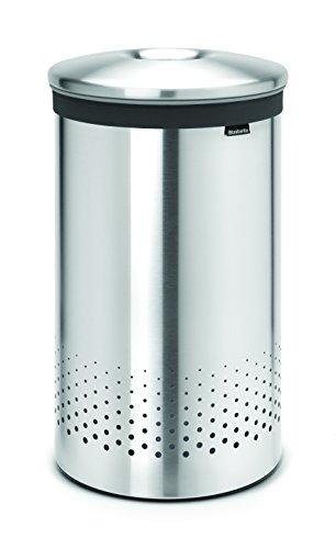 Brabantia Matt Steel (Brabantia 105180 Wäschebox 60 L Edelstahldeckel, matt steel)