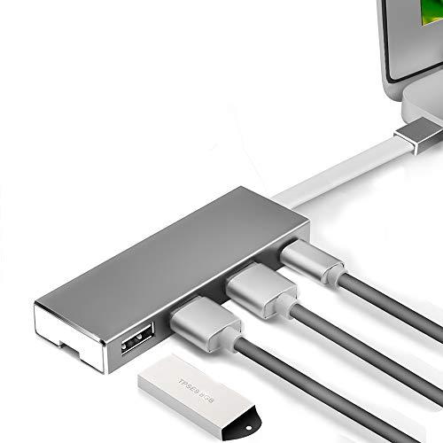 LEP USB-C-Hub, 4-in-1-Typ-C-Adapter-Dockingstation, mit Single-Port-USB3.0-5G- und Dual-Port-USB 2.0-480M / BPS-Übertragungs- / OTG-Erweiterungen für USB-C-Laptops - 4in 1 Erweiterung
